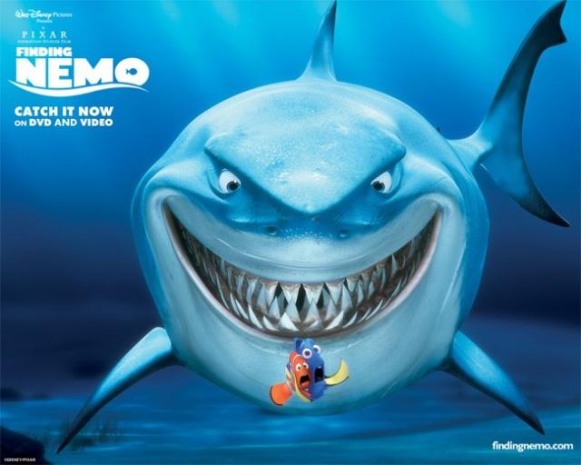 tubarão do Procurando Nemo